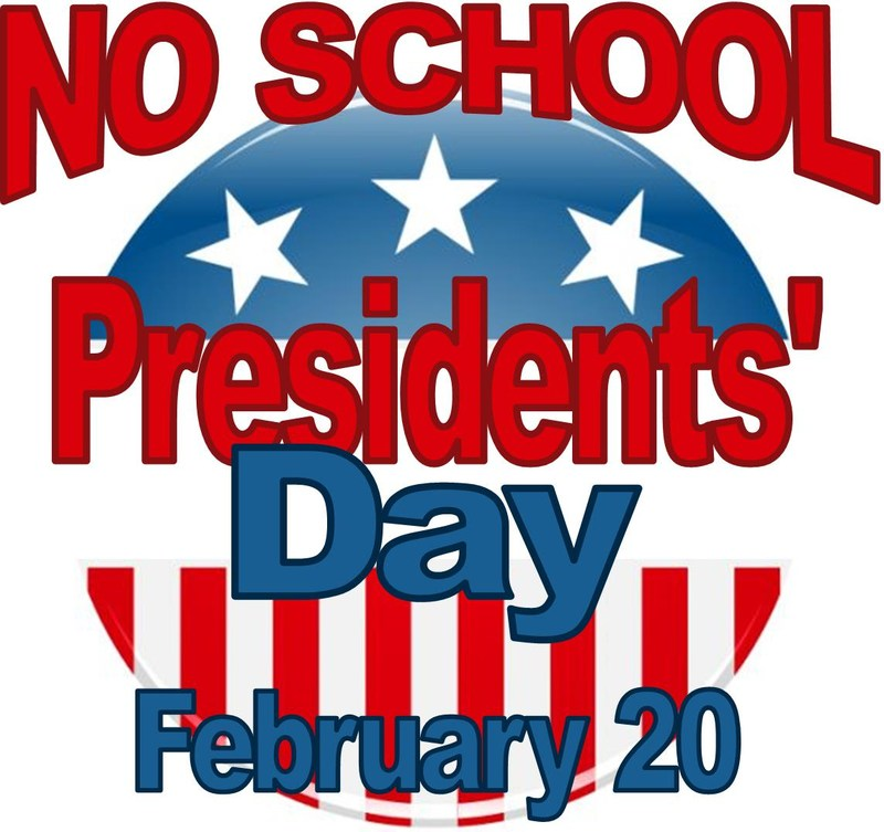 No School on February 20, President's Day Thumbnail Image