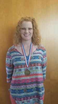Samantha Sullivan placed 4th in Ready Writing at State UIL.