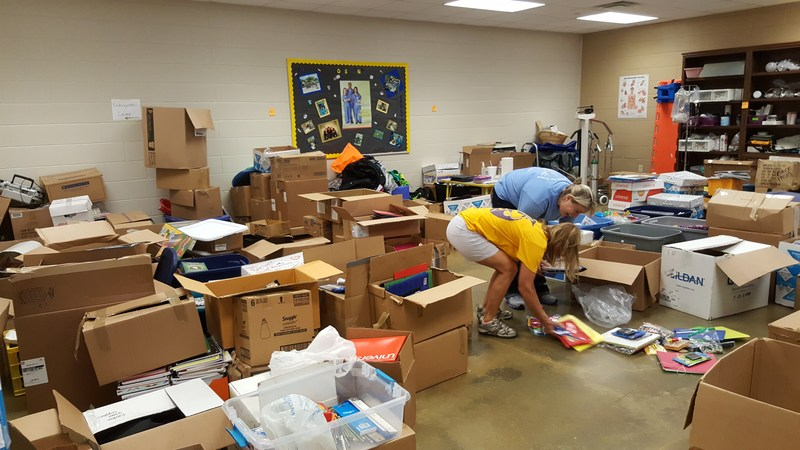 BCHS Delivers Donations For Flooded Baton Rouge Area Schools Thumbnail Image