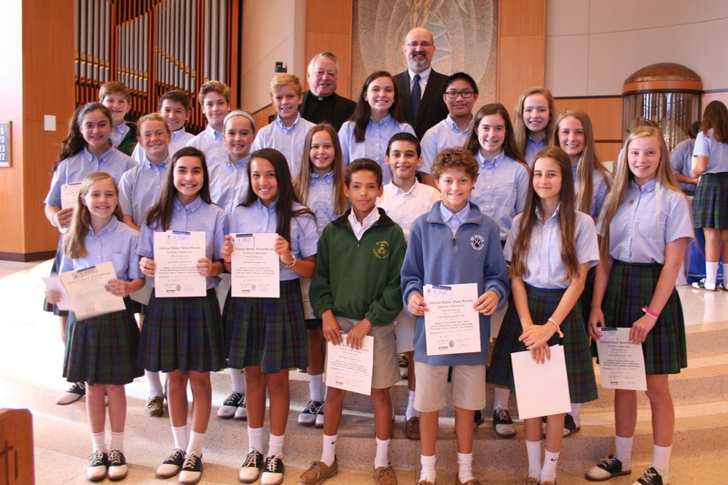 National Junior Honor Society - New Inductees