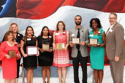 Six CSISD educators honored by TAMU
