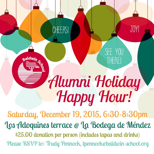 Alumni Holiday Happy Hour!