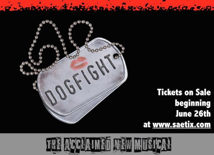 Tickets are Now Available for The Summer Arts Conservatory Performance of Dogfight!!