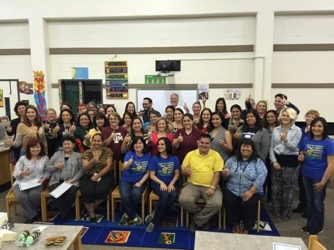 SAENZ ELEMENTARY RECOGNITION AND CELEBRATION