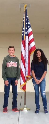 FRANCISCO MACIEL AND JULIESSA VIRGEN NAMED CLASS OF 2015 VALEDICTORIANS!!! (5/14/15)