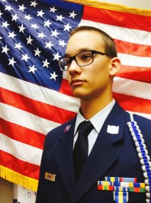 Golden Valley HS Student Patrick Speers Earns JROTC National Award