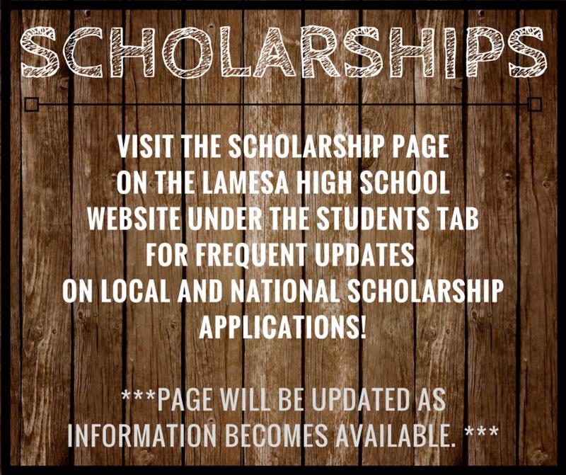 Scholarship Opportunities Thumbnail Image