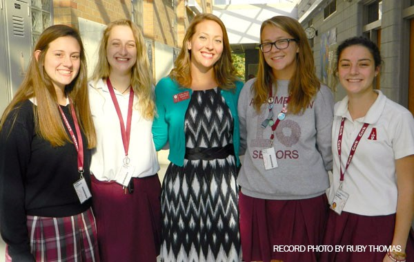 Assumption's Green Dot Club Featured in The Record Newspaper