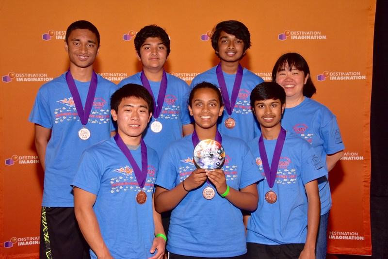 DI Team Wins at Globals