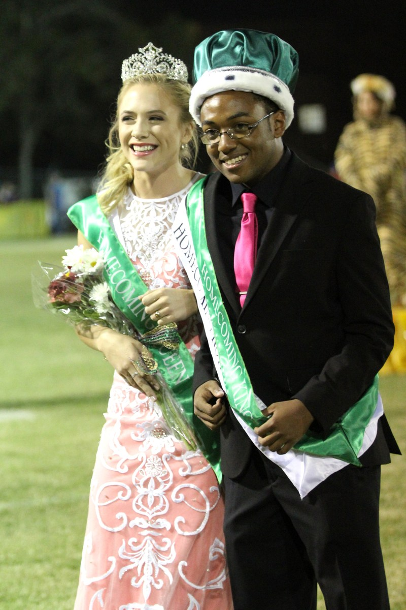 Congratulations to our Homecoming Royalty!