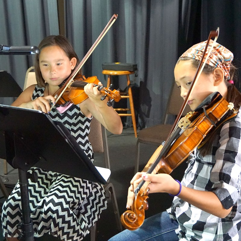 Violin Students Perform Broadway Hits on February 19