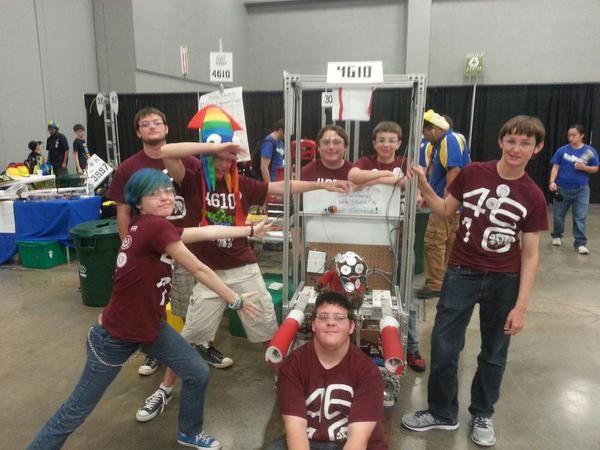 BHS Robotics Team competes in Texas Robot Roundup!