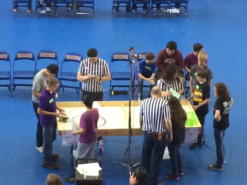Results from State Robotics Competition