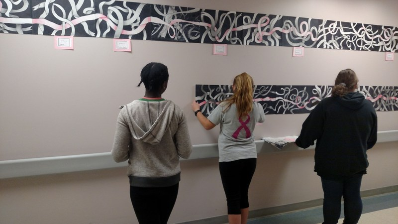 AAHS Students Use Art to Help Boost Cancer Patients Thumbnail Image