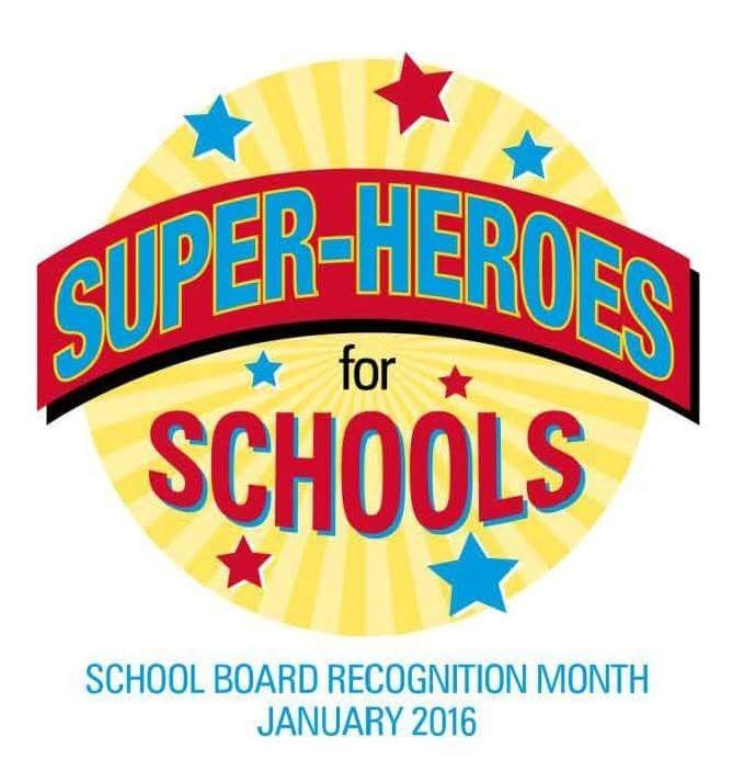 School Board Appreciation Month.