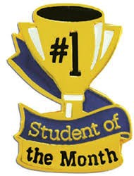 Students of the month of January 2016 Activity