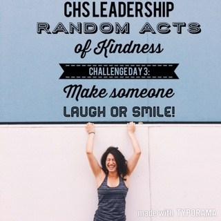 Kindness Week Challenge: Make Someone Laugh or Smile!