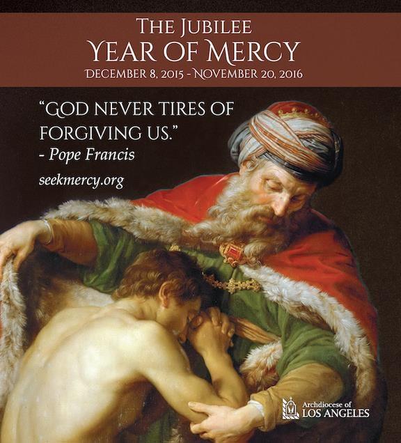 Extraordinary Jubilee Year of Mercy - Now through November 20, 2016