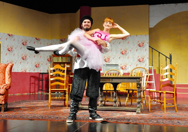 'You Can't Take It With You' on stage at Walnut High