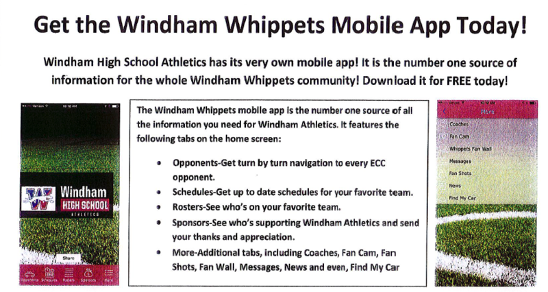 Get the Windham Whippets Mobile App Today! Thumbnail Image