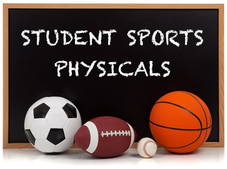 Athletic Physicals - Mark your calendar