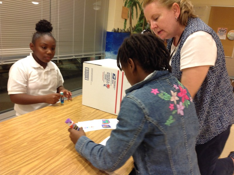 SAILS Students Participate in Operation We Care