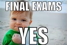 Semester/Final Exam Schedule