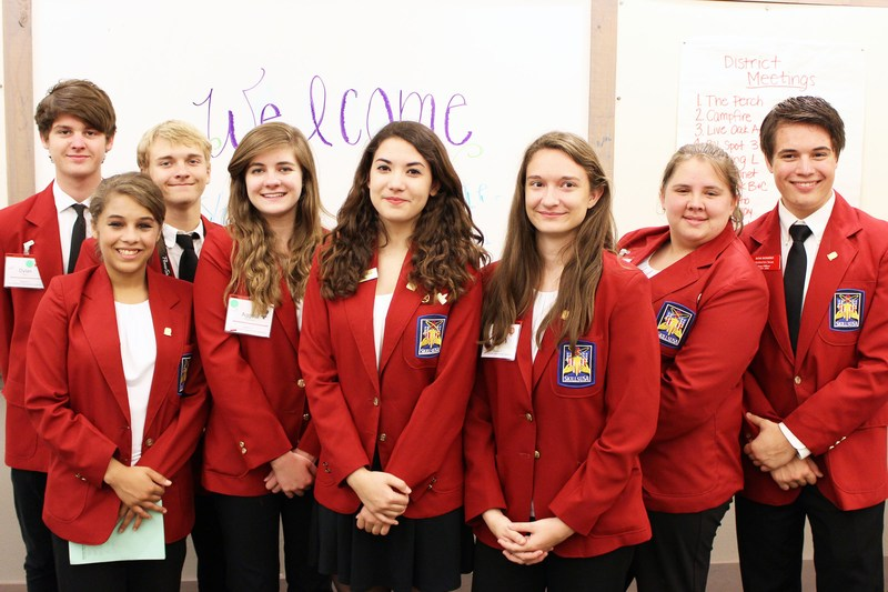 CSISD students elected to state and district SkillsUSA office