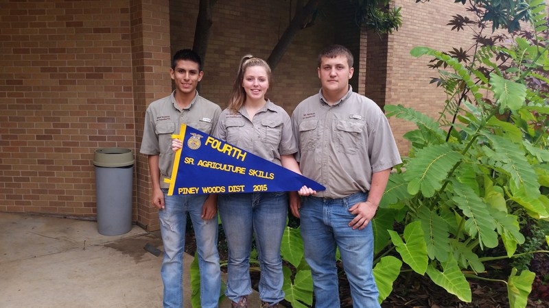 Congratulations to Morgan, Mark, & Zay @ The Piney Woods District LDE!