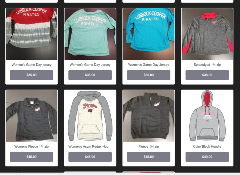 Athletic Booster Club Launches New Online Store Thumbnail Image