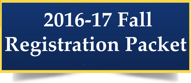 2016-17 Fall Registration Packet Thumbnail Image