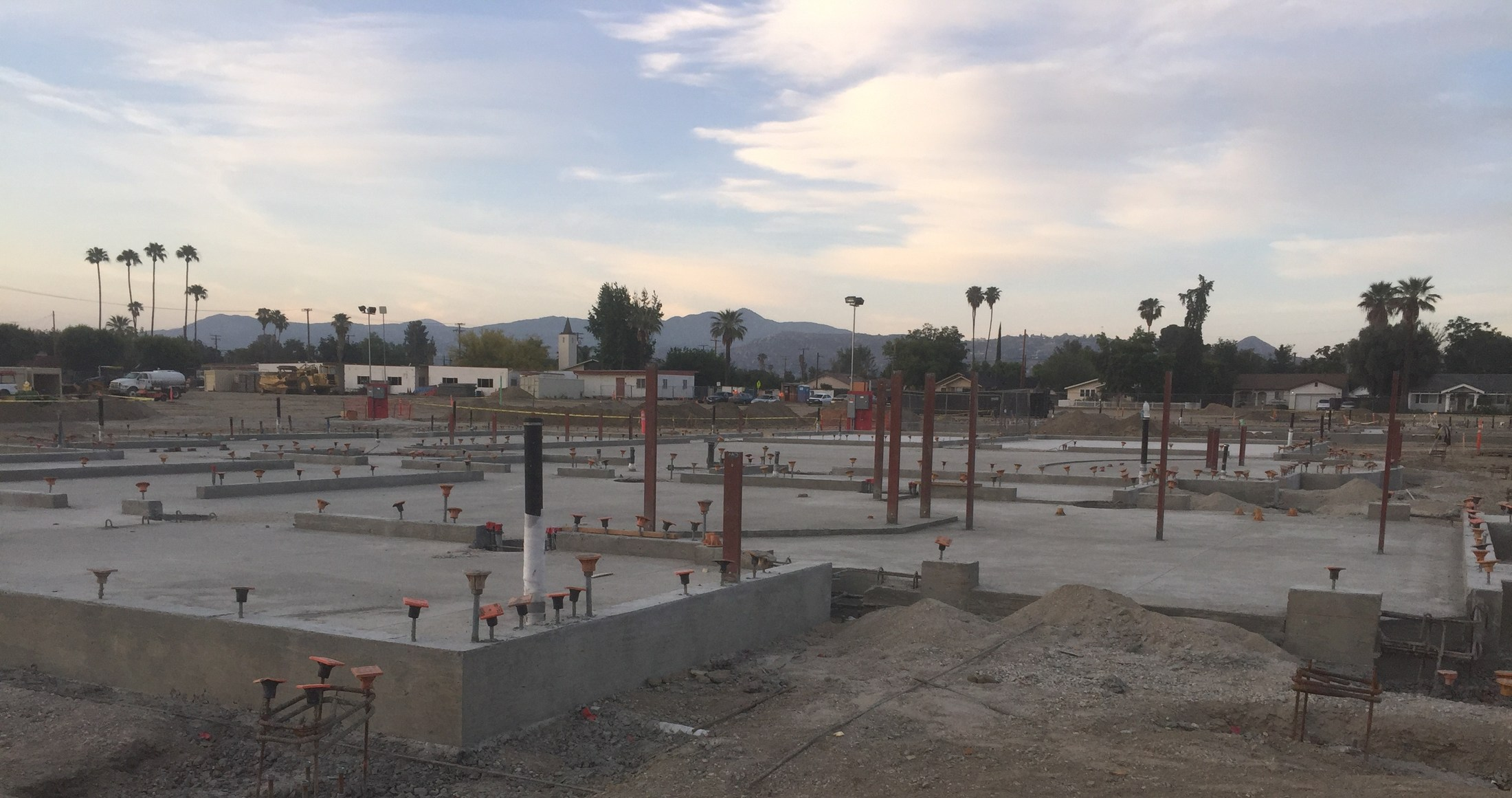 Bldg B Steel and Framing to Start