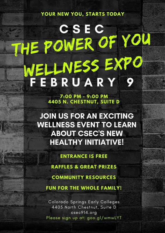 Poster for The Power of You Wellness Expo