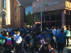 Cristo Rey celebrates the 20th first day of school