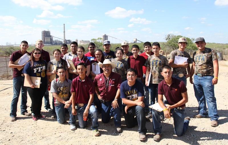Zapata FFA Chapter Plant ID Teams Bring Home Honors
