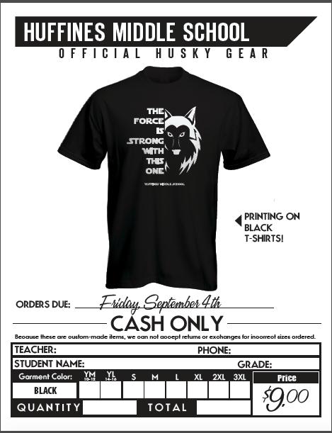 T-Shirt Orders!