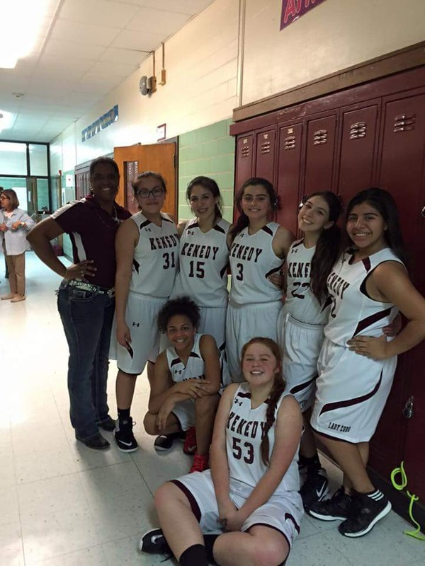 8th GRADE LADY CUBS OVERCOME SLOW FIRST HALF