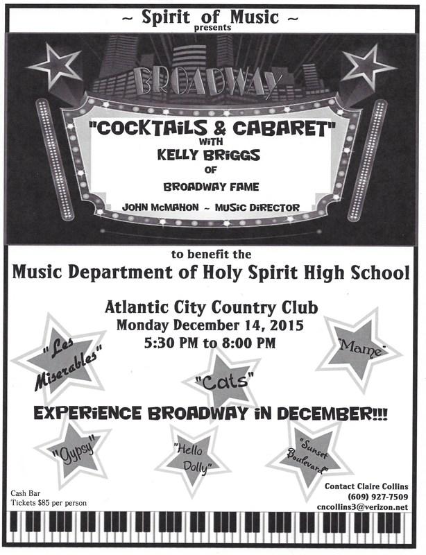 """""""Cocktails & Cabaret"""" - Spirit of Music ~ 12/14"""