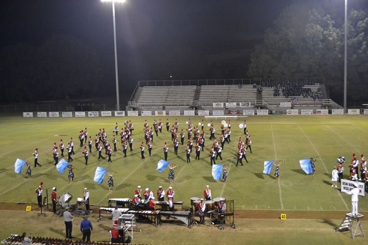 BHS Marching Band Wins Grand Champion Award