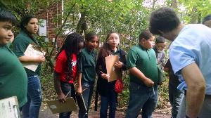 East Campus 5th graders take nature tour, become young scientists