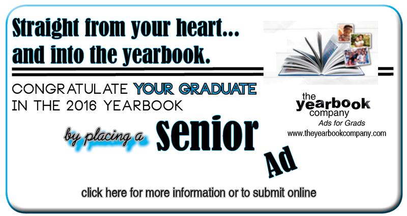 Senior Yearbook Ad Discount Expires November 19th