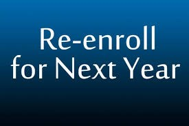 Intent to Re-enroll Thumbnail Image