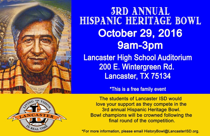 Lancaster ISD celebrates Hispanic Heritage and Culture with Academic Bowl Thumbnail Image