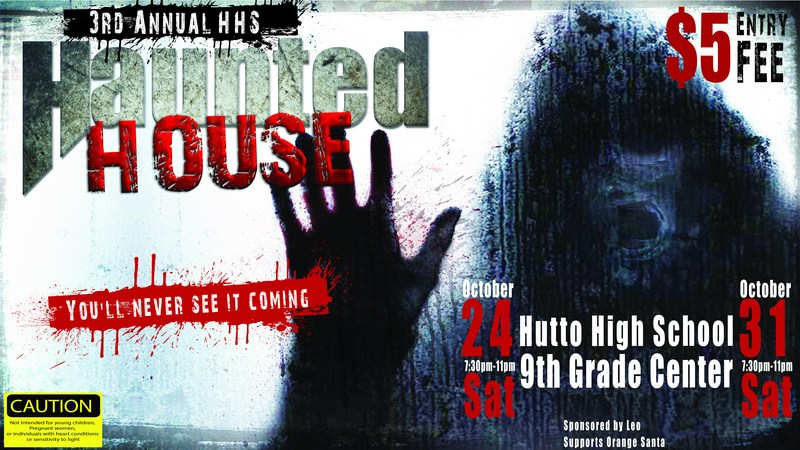Third Annual HHS Haunted House