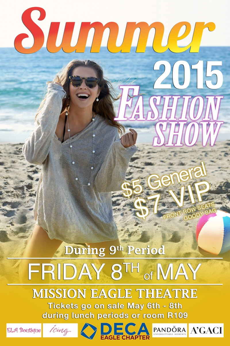 """Mission DECA """" Summer Fashion Show"""" Commercial"""