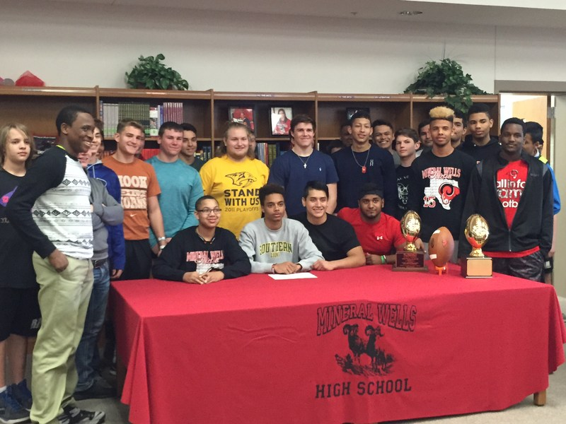 Two Mineral Wells Student-athletes Sign Letters of Intent