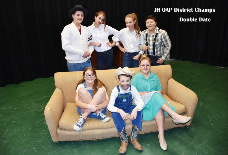 Blum Junior High One Act Play Wins District