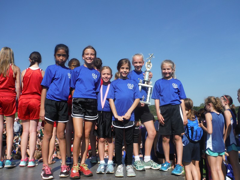 OLG's Cross Country Team at the Diocesan Championships Thumbnail Image