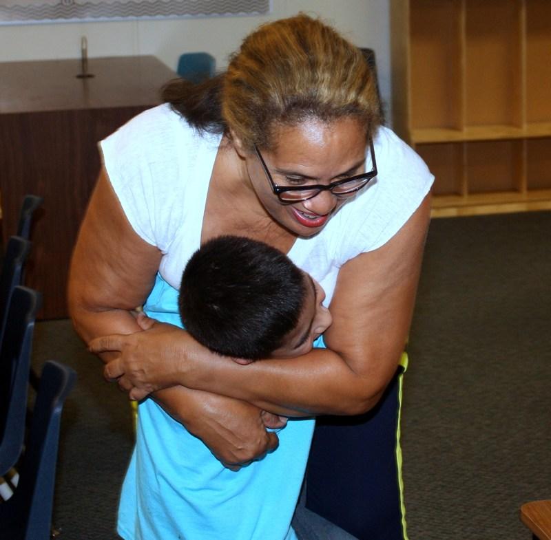Parents meet Northeast teachers the weekend before school starts