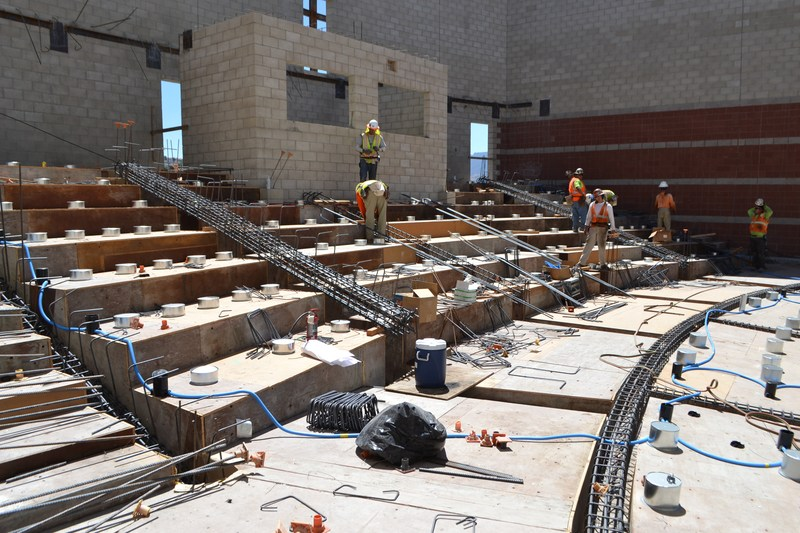 Canyon HS Performing Arts Center on Schedule